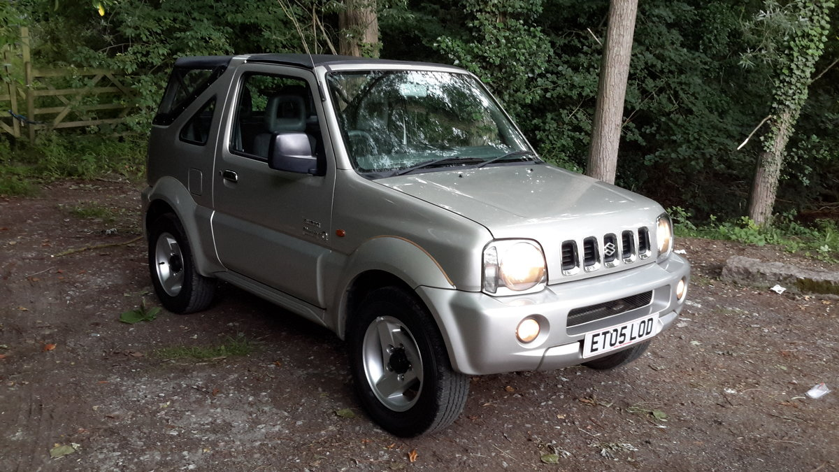 SUZUKI JIMNY O2 SOFT TOP 2005 73000 MILES PX WELCOME For Sale (picture 2 of 6)