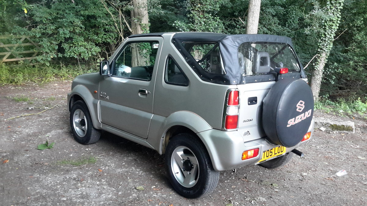 SUZUKI JIMNY O2 SOFT TOP 2005 73000 MILES PX WELCOME For Sale (picture 5 of 6)