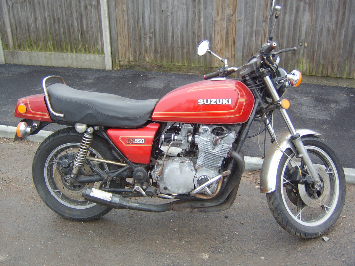 1979 Suzuki GS 850 for auction 16th - 17th July SOLD by Auction (picture 1 of 4)