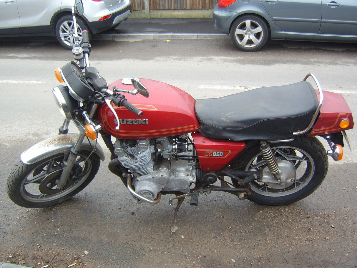 1979 Suzuki GS 850 for auction 16th - 17th July SOLD by Auction (picture 2 of 4)