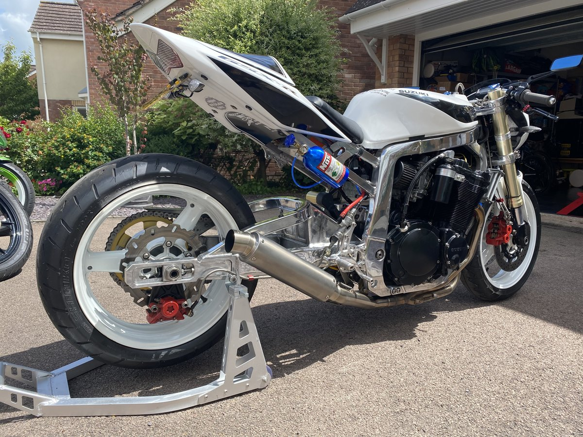1990 GSXR 1100 drag bike For Sale (picture 4 of 6)