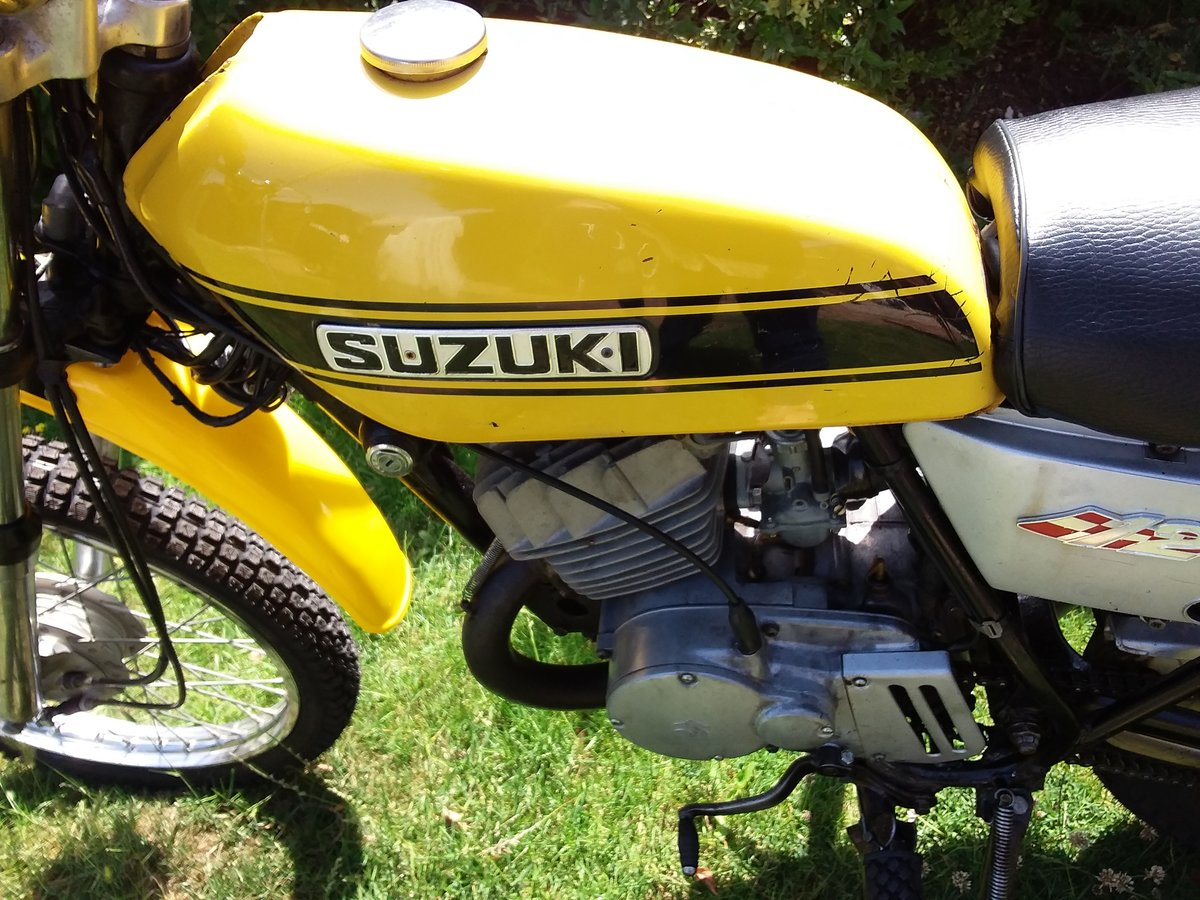 1971 SUZUKI TS 125 CLASSIC BIKE LEARNER LEGAL SOLD (picture 4 of 4)