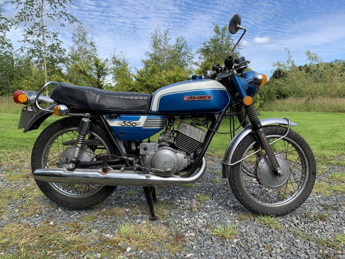 1973 Suzuki T350 Rebel for resto For Sale (picture 2 of 4)