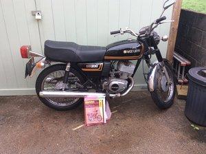 Suzuki sb200 fab little bike