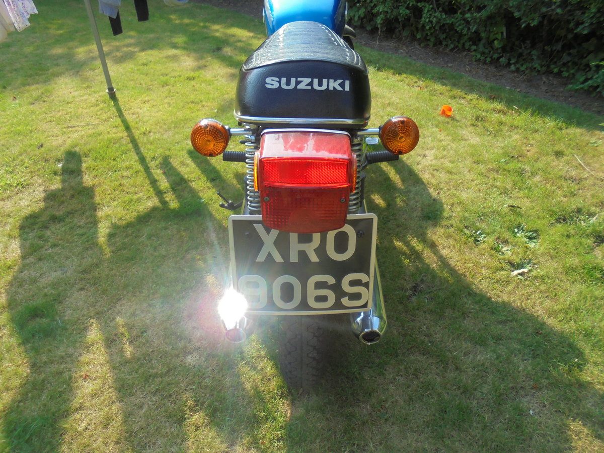 1977 suzuki gt250b immaculate For Sale (picture 6 of 6)