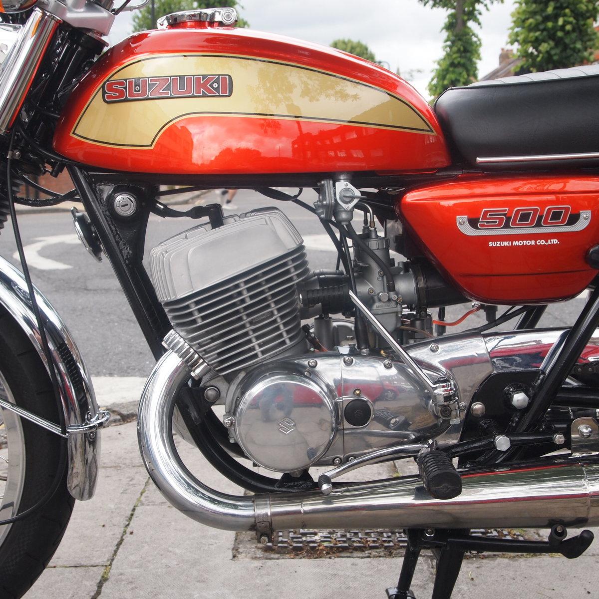 1974 Suzuki T500 In Beautiful Condition SOLD (picture 6 of 6)