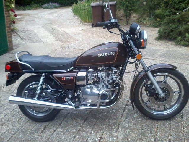 1981 gs1000g near mint,low miles classc For Sale (picture 1 of 6)