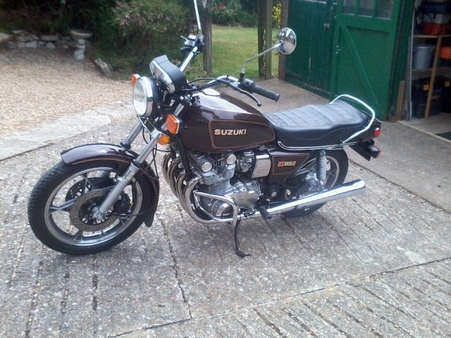 1981 gs1000g near mint,low miles classc For Sale (picture 2 of 6)