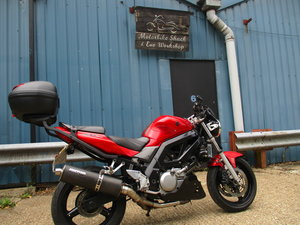 Picture of Suzuki SV650S 2007 Red 25kmiles For Sale