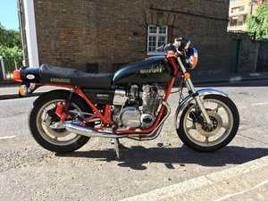 Fully restored Suzuki GS750