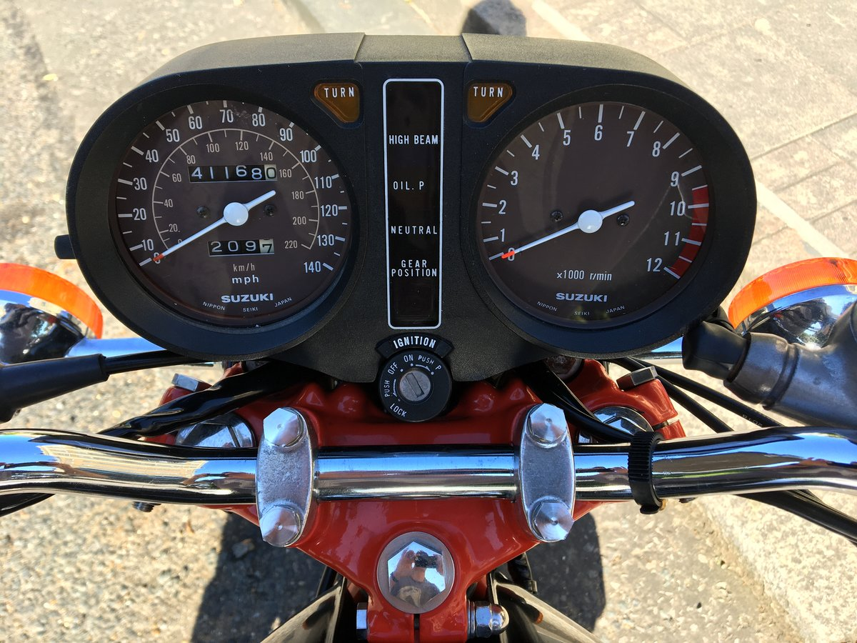 1978 Fully restored Suzuki GS750  For Sale (picture 3 of 6)