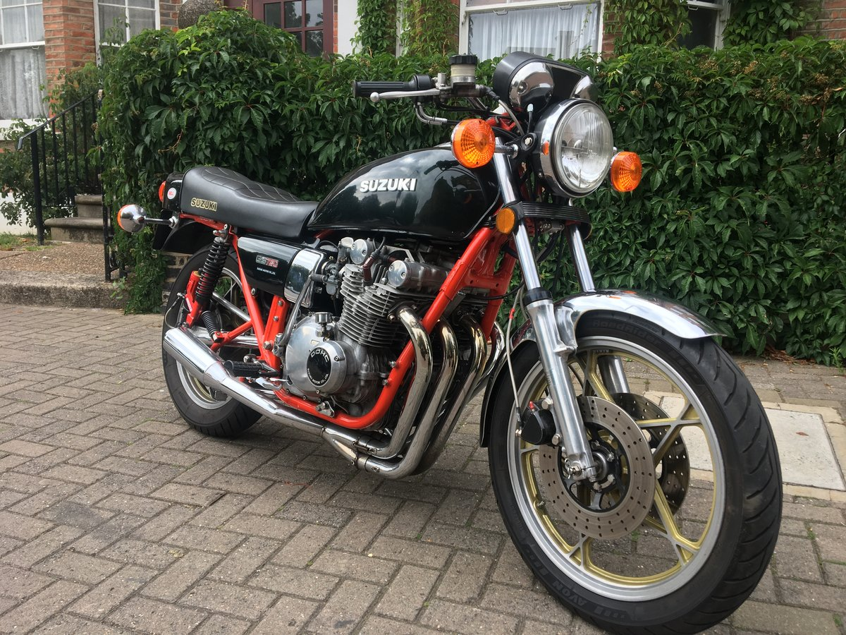 1978 Fully restored Suzuki GS750  For Sale (picture 4 of 6)