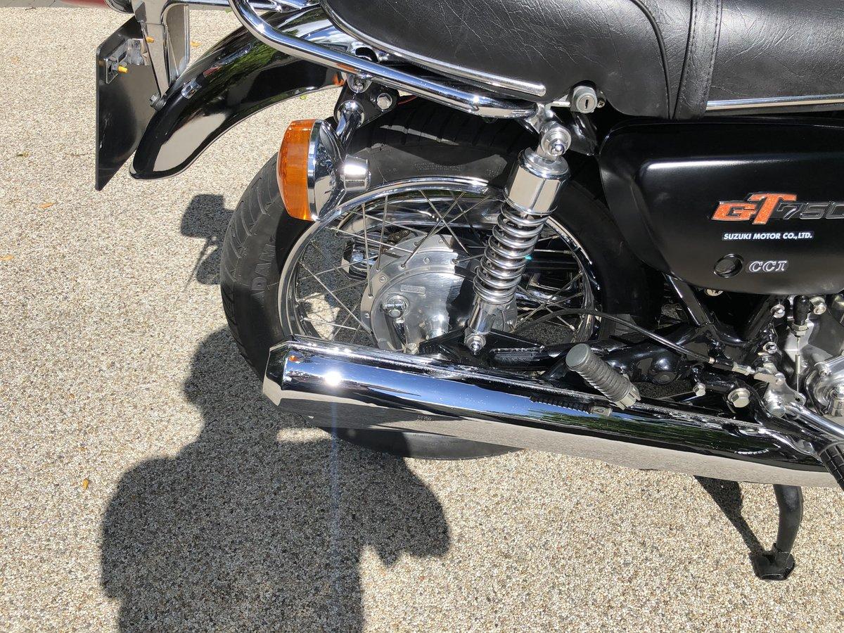 1977 GT750B Superb restored UK bike SOLD (picture 6 of 6)