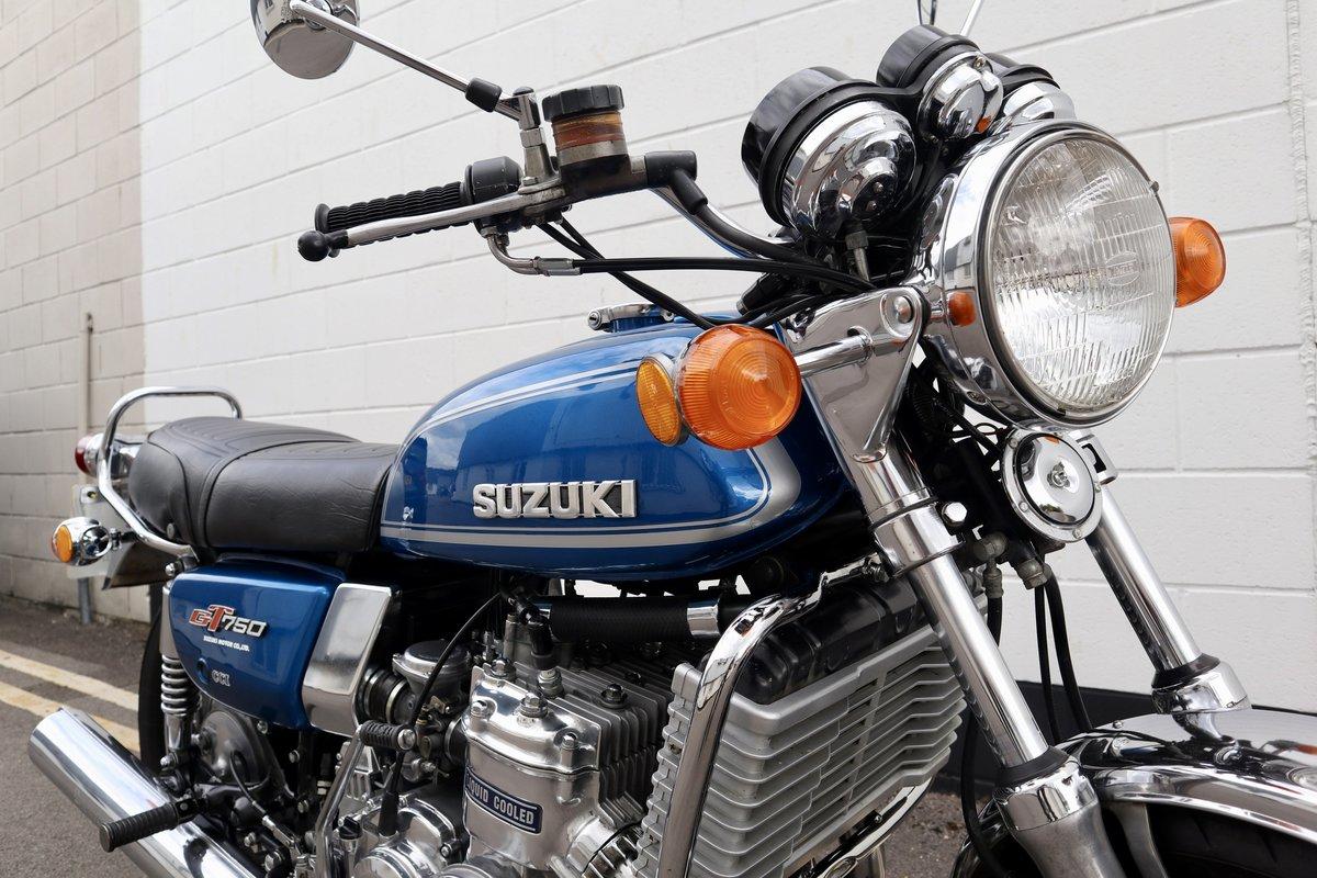 1974 Suzuki GT750 - Very Original - Full engine Rebuild  For Sale (picture 3 of 6)