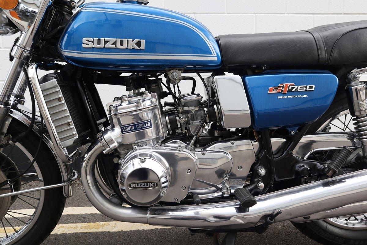 1974 Suzuki GT750 - Very Original - Full engine Rebuild  For Sale (picture 4 of 6)