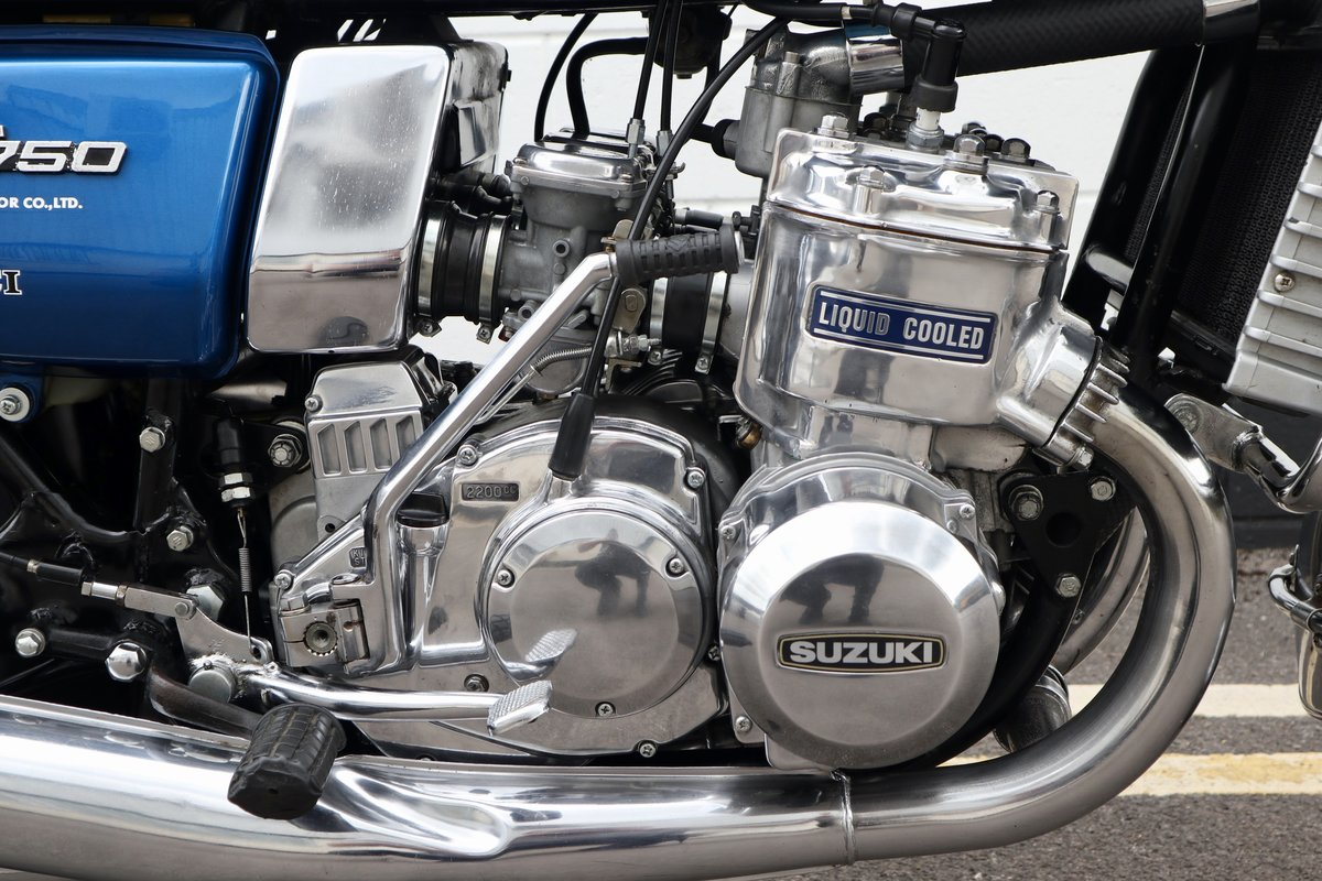 1974 Suzuki GT750 - Very Original - Full engine Rebuild  For Sale (picture 5 of 6)