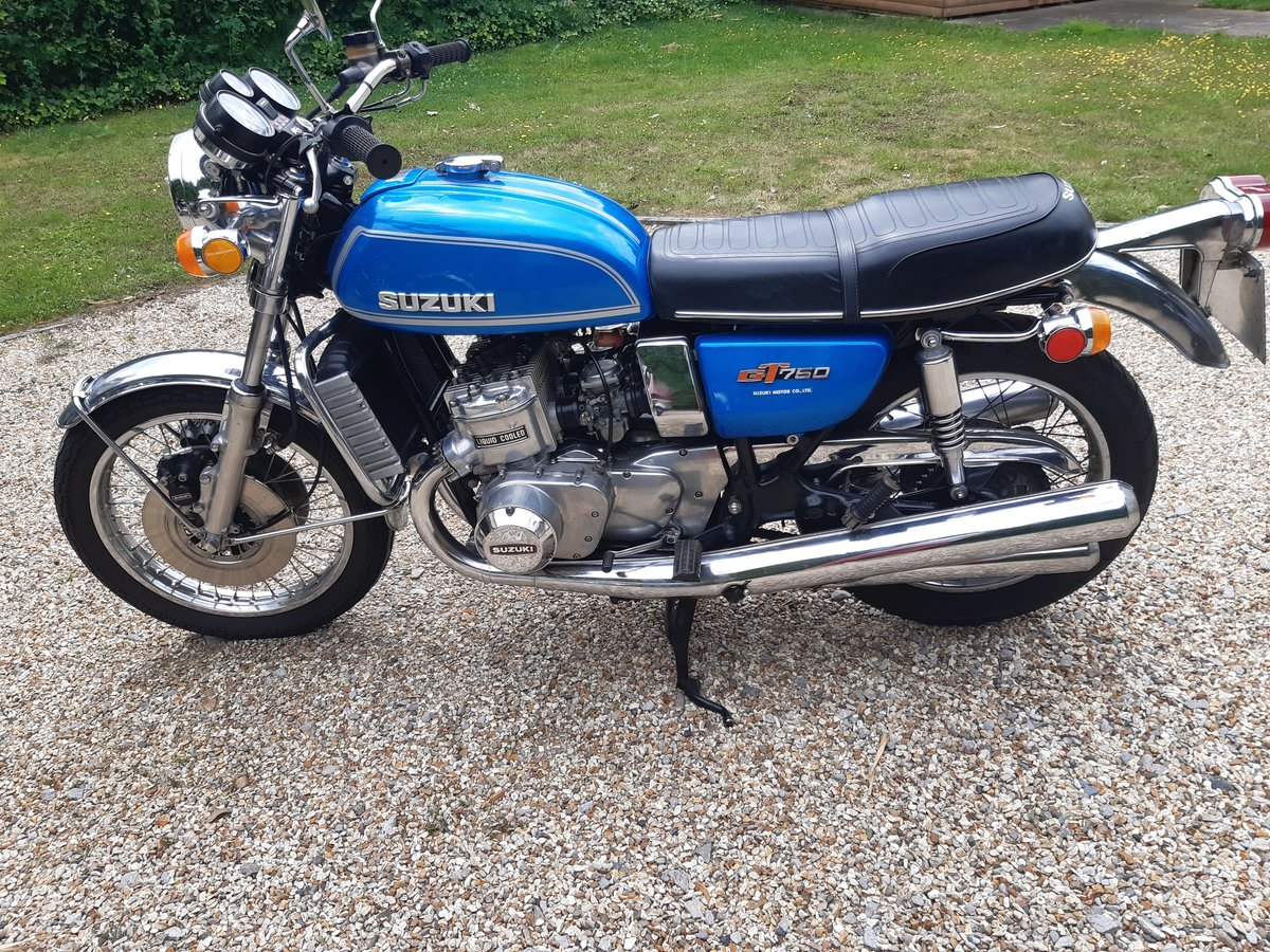 1974 Suzuki gt 750 For Sale (picture 2 of 6)