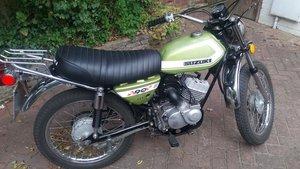1972 Suzuki TC90 Honcho