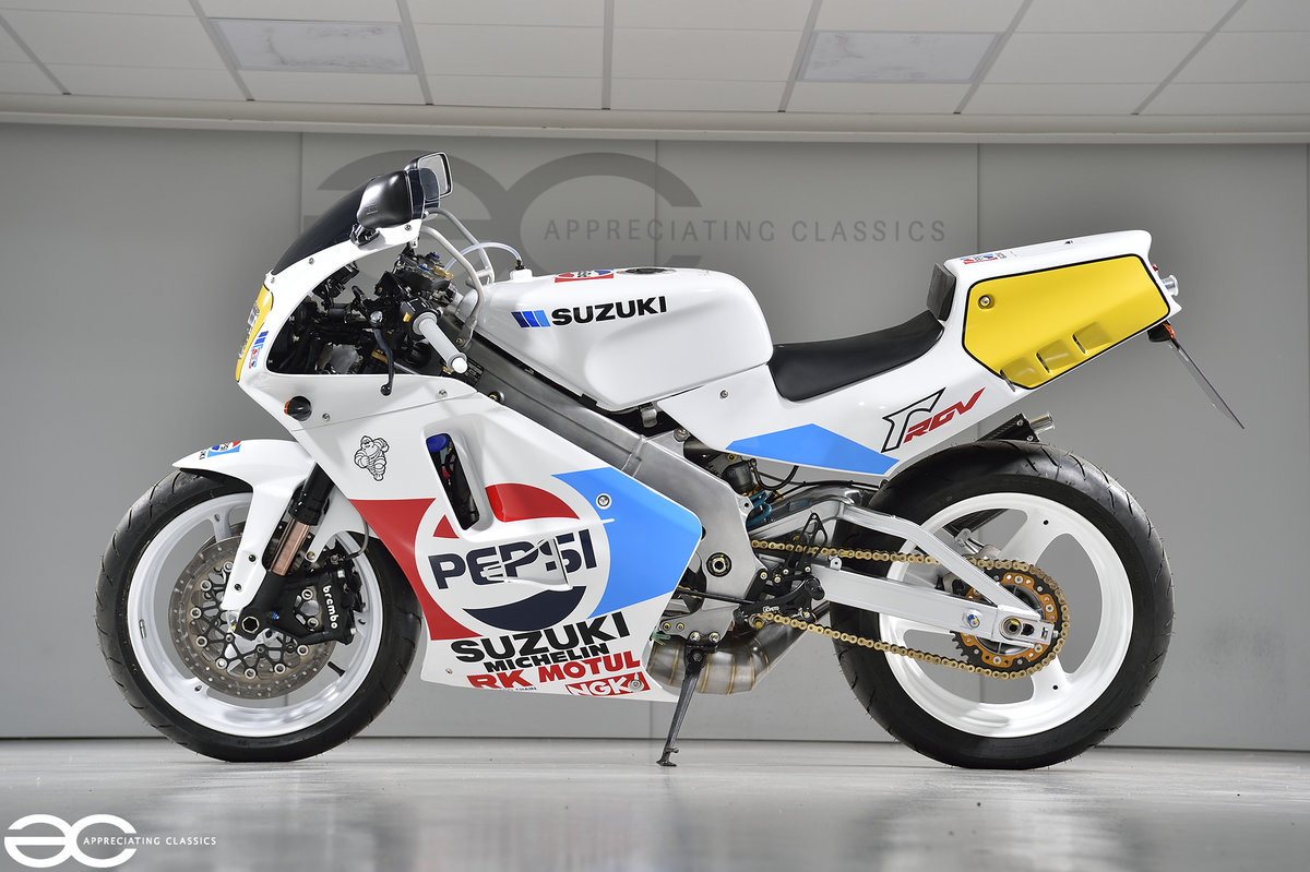 1992 A Beautiful Suzuki RGV 500 Pepsi Kevin Schwantz Recreation SOLD (picture 2 of 6)