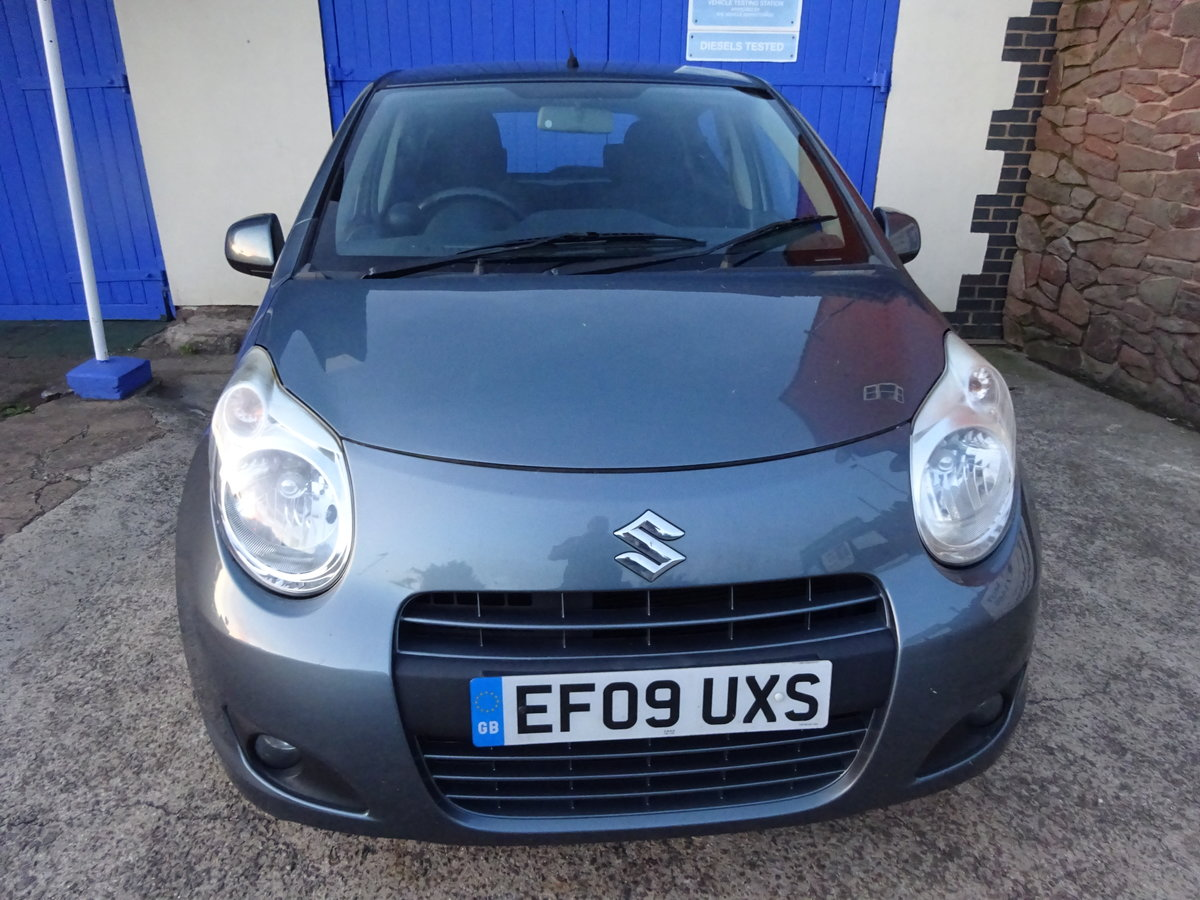 2009 ONE OWNER FROM NEW ALTO 995cc SMART SMALL RUN AROUND  For Sale (picture 1 of 6)
