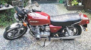 Suzuki gs850 stunning classic