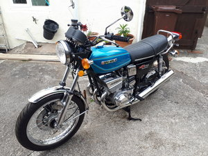 Unregistered Suzuki GT550B 1977