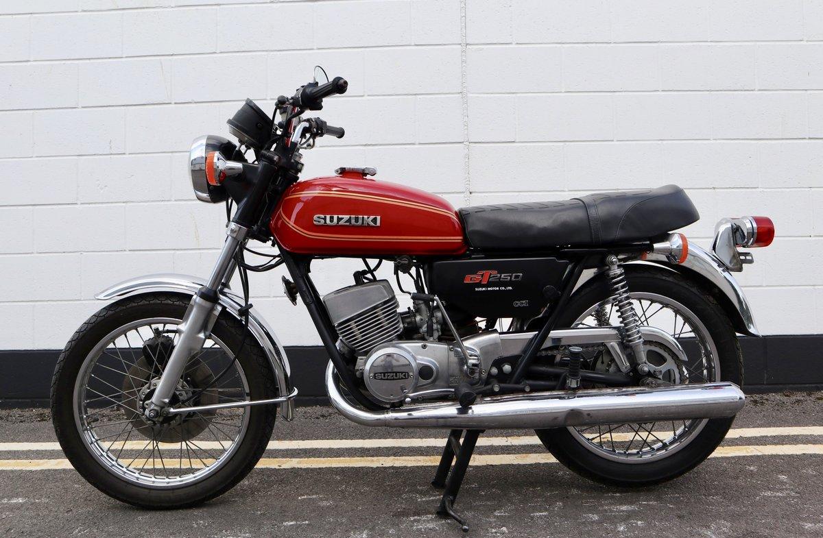 1978 Suzuki GT250 Lot of Money Sent ! SOLD (picture 2 of 6)