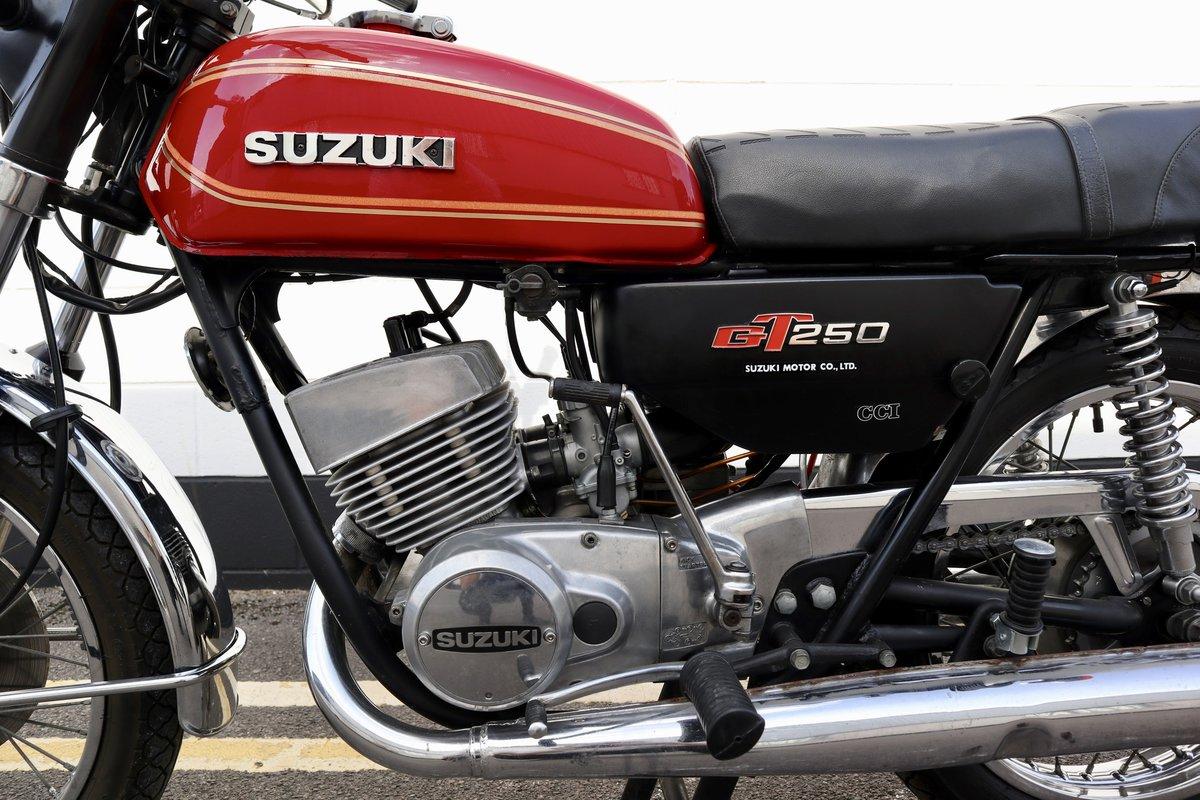 1978 Suzuki GT250 Lot of Money Sent ! SOLD (picture 4 of 6)