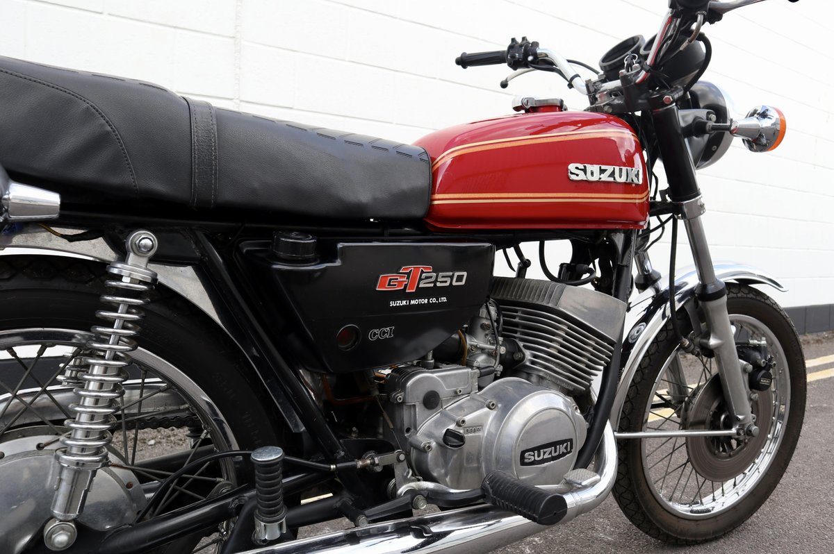 1978 Suzuki GT250 Lot of Money Sent ! SOLD (picture 5 of 6)