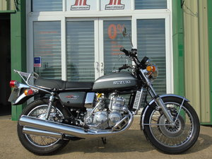 Suzuki GT750 GT 750 1975 Restored To A High Level