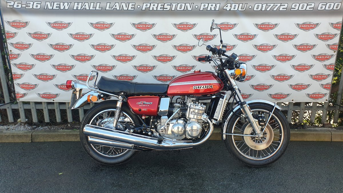 1975 Suzuki GT750M Kettle Roadster Classic For Sale (picture 1 of 6)