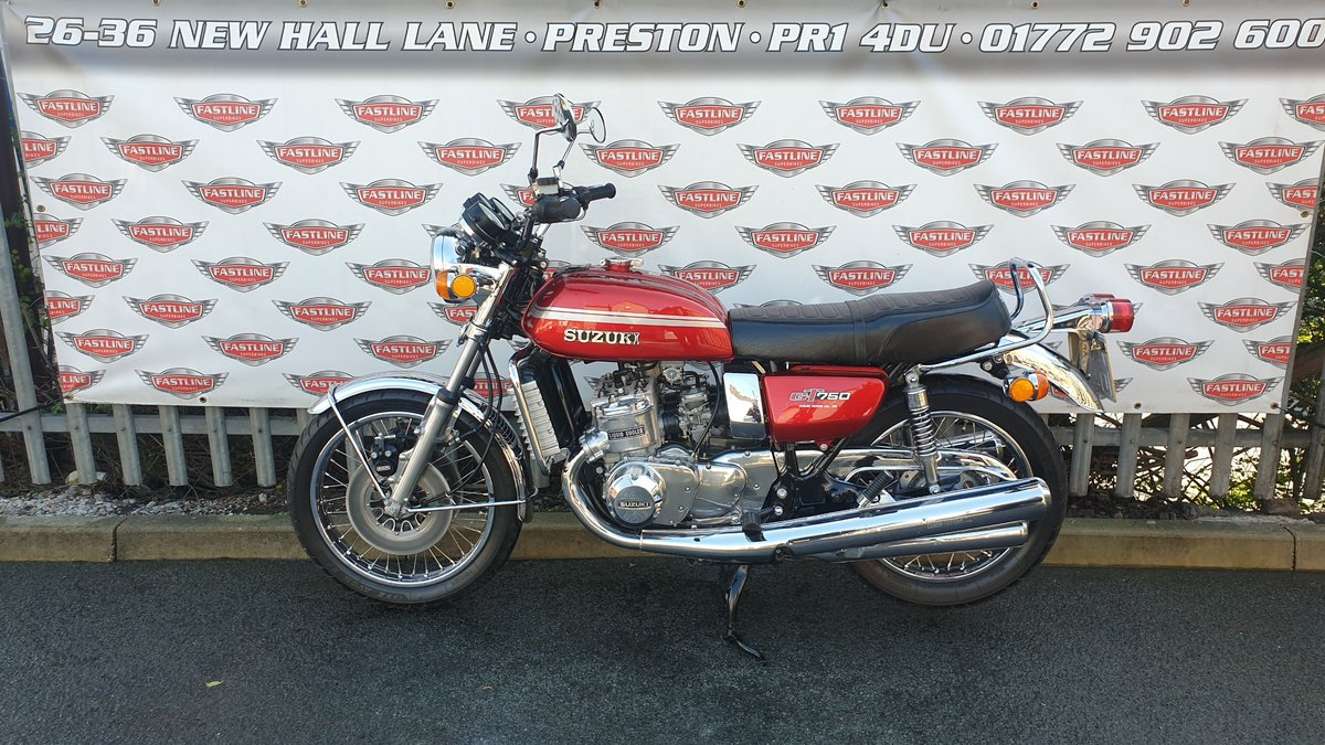 1975 Suzuki GT750M Kettle Roadster Classic For Sale (picture 3 of 6)