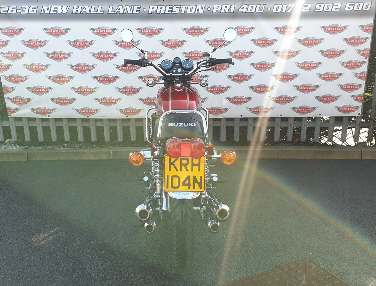 1975 Suzuki GT750M Kettle Roadster Classic For Sale (picture 4 of 6)
