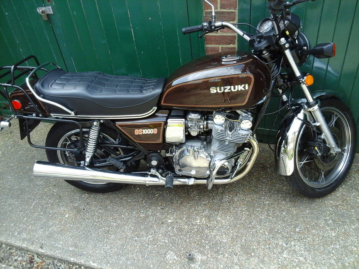 1981 gs1000g near mint,low miles classc For Sale (picture 3 of 6)