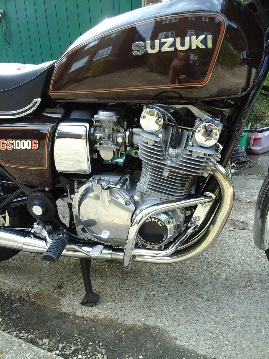 1981 gs1000g near mint,low miles classc For Sale (picture 5 of 6)