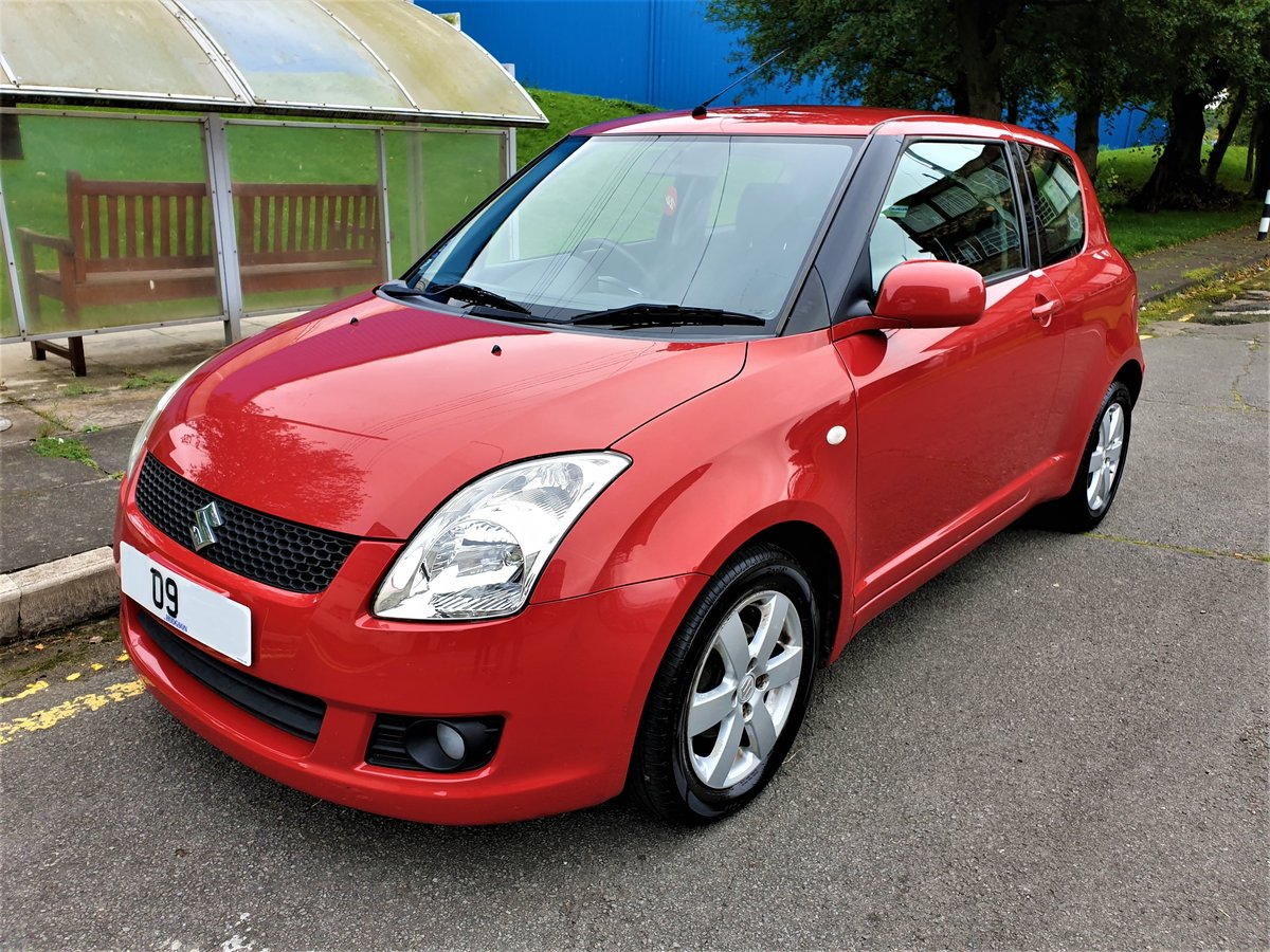 2009 SUZUKI SWIFT 1.5 VVTS GLX DEMO + 1 OWNER FROM NEW F/S/H For Sale (picture 1 of 3)