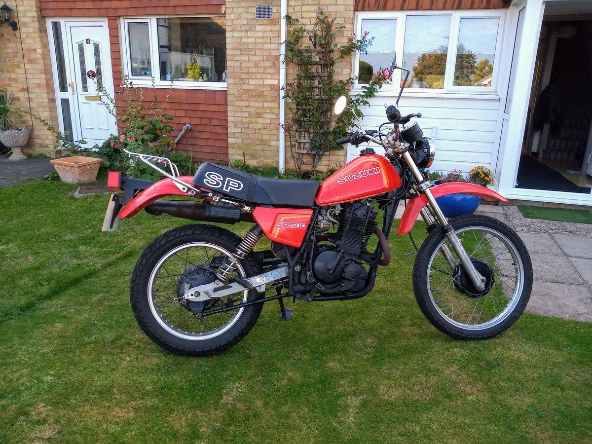 Picture of 1982 Suzuki SP500 twin shock enduro\trail bike For Sale
