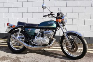 1976 Suzuki GT550 - Excellent Original Condition - UK Model