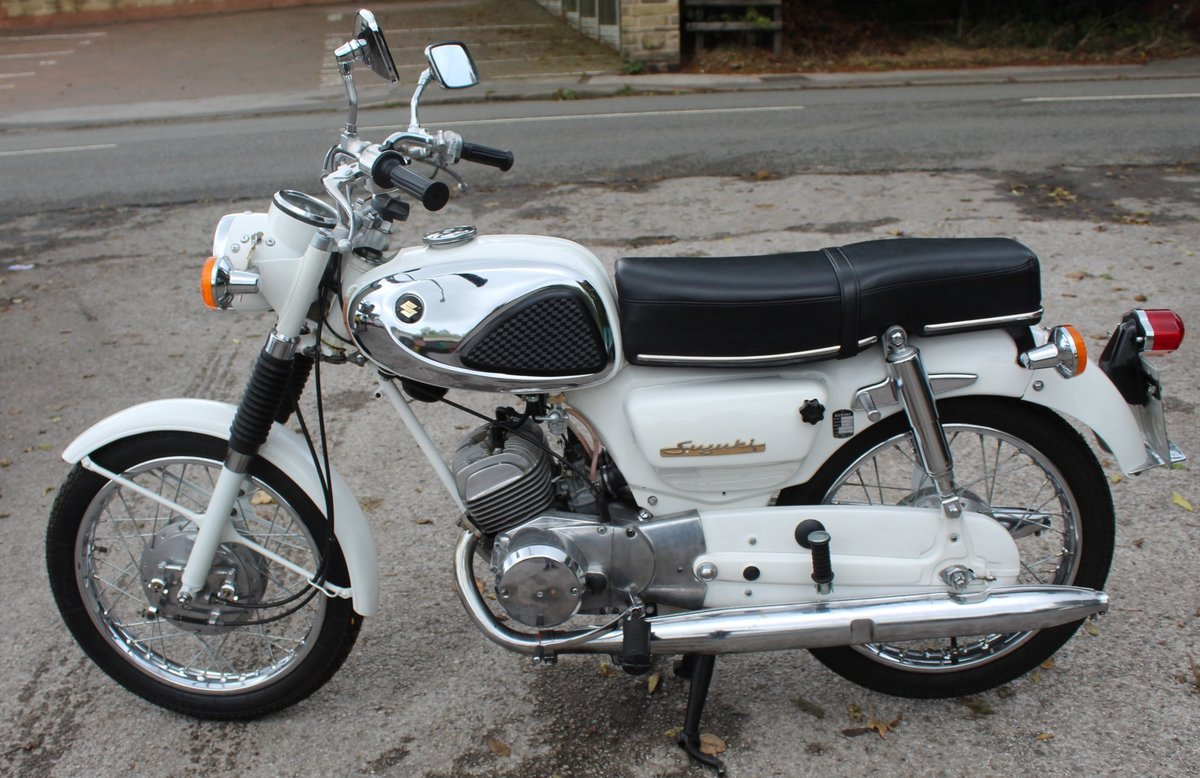 1966 966 Suzuki S32-2 150 cc Twin With Electric Start  For Sale (picture 1 of 6)
