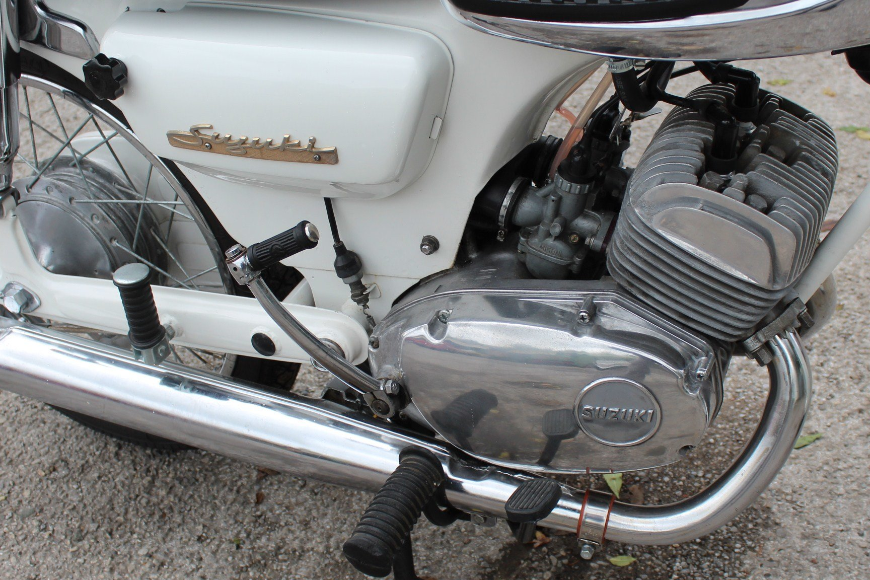 1966 966 Suzuki S32-2 150 cc Twin With Electric Start  For Sale (picture 5 of 6)