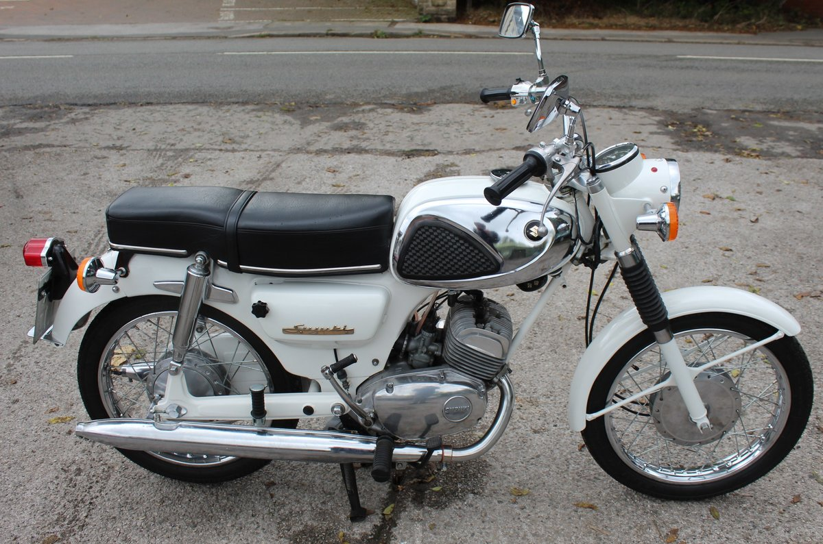 1966 966 Suzuki S32-2 150 cc Twin With Electric Start  For Sale (picture 6 of 6)
