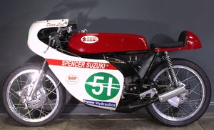 1967 Spencer Suzuki T200 This bike has won Many Races
