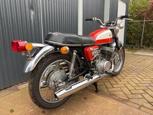 Picture of 1972 Original and good Suzki T500J