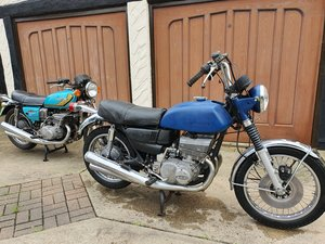 Pair or Suzukis - GT550K and GT550L
