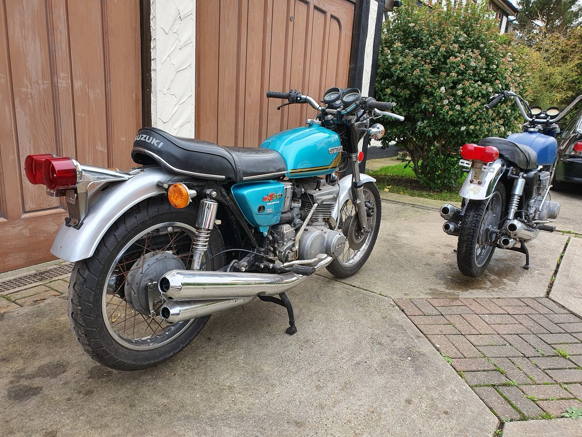 7274 Pair or Suzukis - GT550K and GT550L SOLD (picture 6 of 6)