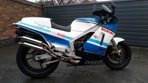Suzuki rg500 gamma amazing uk bike matching number