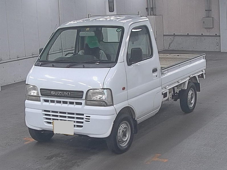 2002 SUZUKI CARRY TRUCK 660CC 4X4 MANUAL PICKUP * ONLY 9000 MILES For Sale (picture 1 of 6)