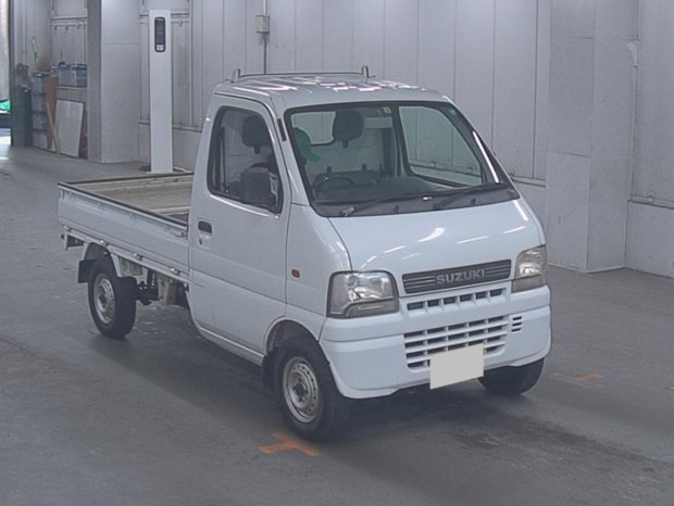 2002 SUZUKI CARRY TRUCK 660CC 4X4 MANUAL PICKUP * ONLY 9000 MILES For Sale (picture 2 of 6)
