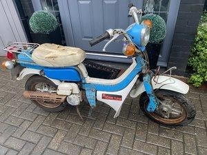Suzuki FZ50 1979 complete bike for restoration