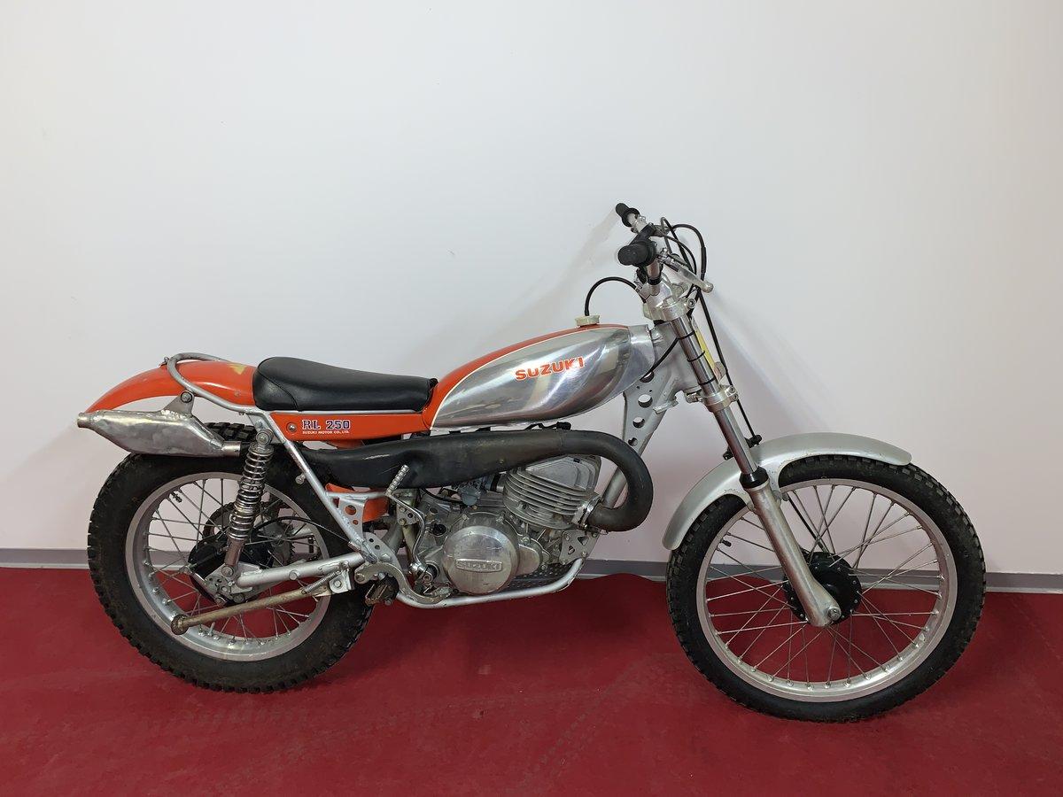 Picture of 1974 Suzuki RL 250 first trials bike For Sale